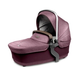 Silver Cross - Wave Claret Carrycot - Claret