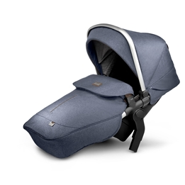 Silver Cross - Wave Midnight Tandem Seat Unit - Midnight