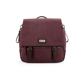 Silver Cross - Wave Claret Changing Bag - Claret
