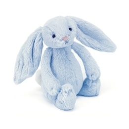Jellycat - Bashful Bunny Blue Rattle