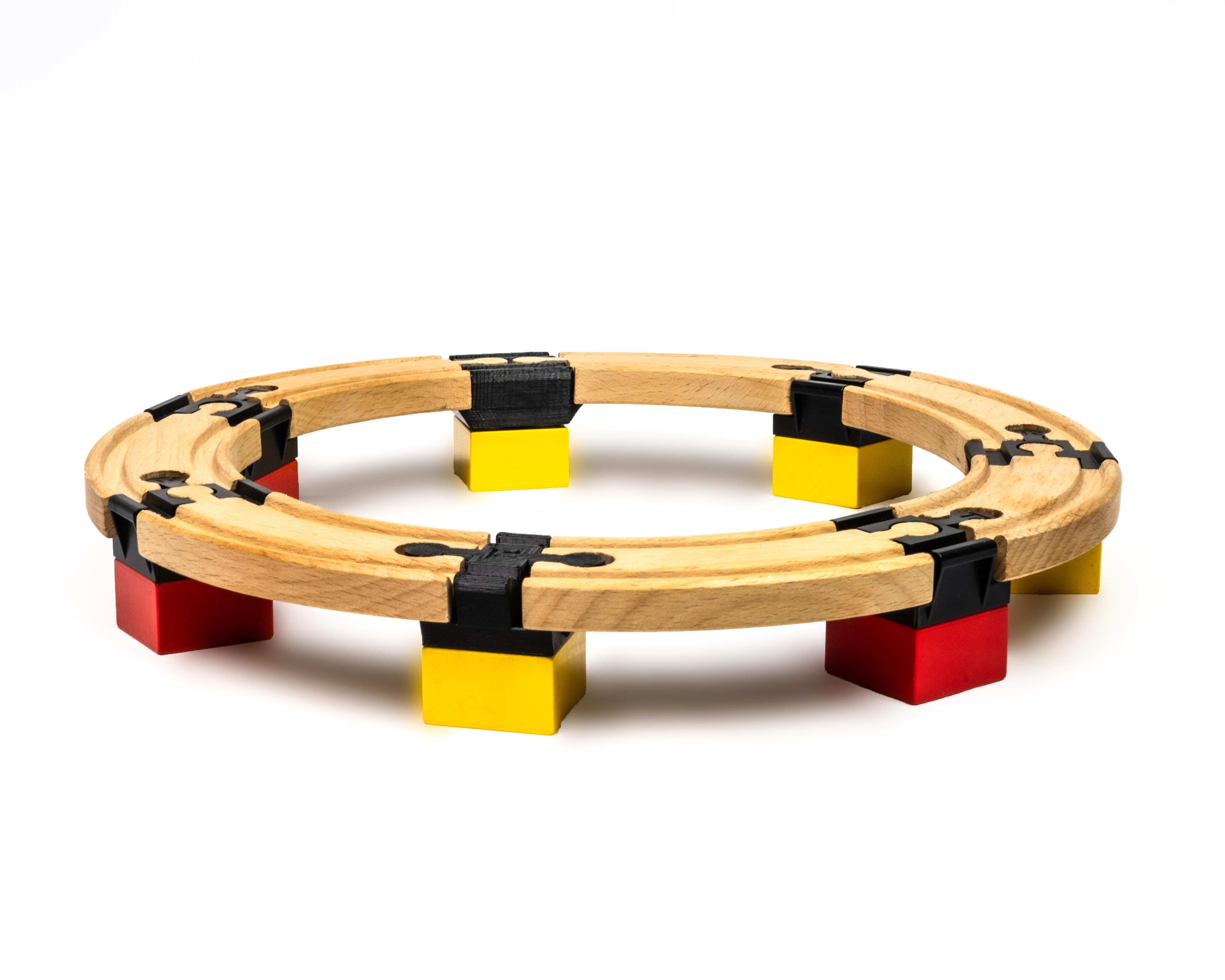 TOY2 Toy2 - Tågebanedelar - Basic Pack - Small