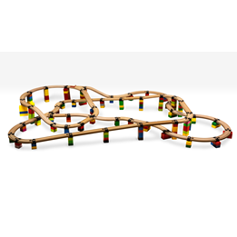 Toy2 - Tågebanedelar - Engineer Set - Huge