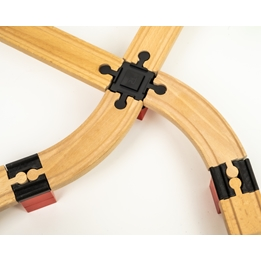 Toy2 - Tågebanedelar - Intersections + Double Female
