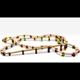 Toy2 - Tågebanedelar - 50 Basis Connectors