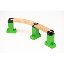 Toy2 - Tågebanedelar - Startar Pack - Large