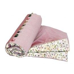 Sture & Folke - Barntäcke - Anemone - Eggshell White/Mountain Pink