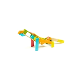 Tegu - Magnetiska Träklossar 24 Bitar - Tints