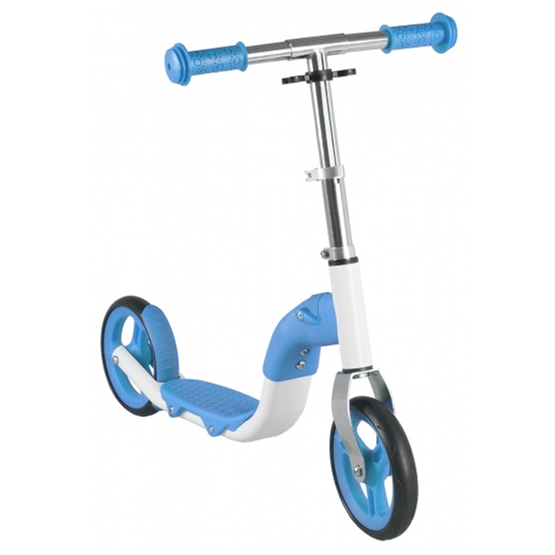 Anlen - Balanscykel - Loopfiets En Step 2In1 Junior Blå/Vit