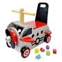 Im Toy - Walking And Manual Wheelchair Plane 42 X 38 X 24 Cm Gray / Röd