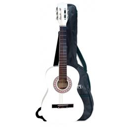 Bontempi - Gitarr Shoulder Strap Bag And 6 Strings Vit 92 Cm