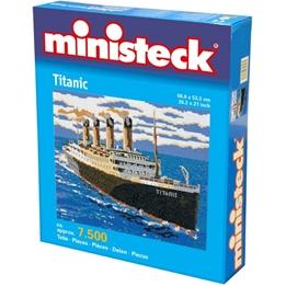Ministeck - Modellbygge Titanic 7500 Delar