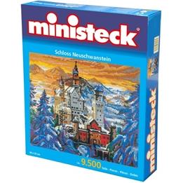 Ministeck - Slottet Neuschwanstein 9500 Delar