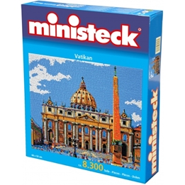Ministeck - Pyssel Vatikanen 8300 Delar