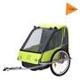 Vantly - Cykelvagn / Lastvagn - Kiddy 20 Tum Junior Grön
