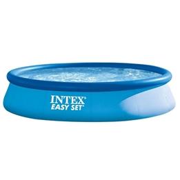 Intex - Uppblåsbar Pump Utan Pump 396 X 84 Cm Blå