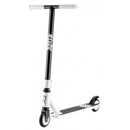 Xootz - Sparkcykel - Stuntstep Junior Fotbroms Svart/Vit