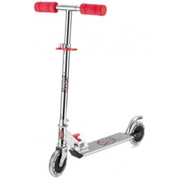 Xootz - Sparkcykel - Step Led Wielen Junior Fotbroms Silver
