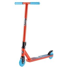 Xootz - Sparkcykel - Stuntstep Fotbroms Röd