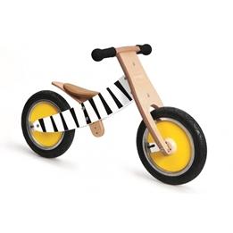 Scratch - Balanscykel - Move-It Loopfiets Junior Blank/Svart