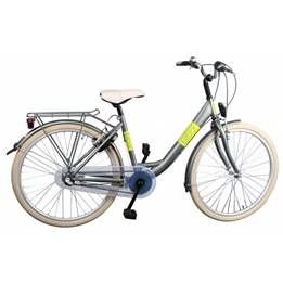 Bike Fun - Barncykel - Blizz 26 Tum 3 Växlar Matte Grön