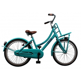 Bike Fun - Barncykel - Cargo Load 20 Tum Grön