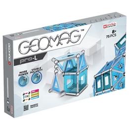Geomag - Pro-L Blå / Silver 75-Piece