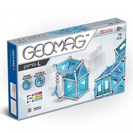 Geomag - Pro-L Blå / Silver 110-Piece