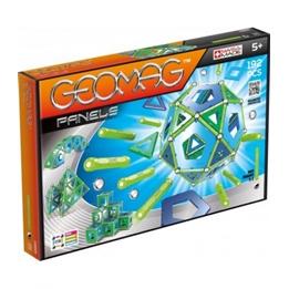Geomag - Panels Silver / Grön / Blå 192-Piece