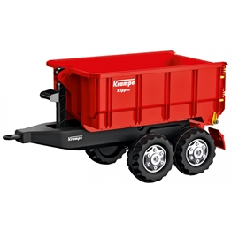 Rolly Toys - Trailer Rollycontainer Krampe Junior Röd