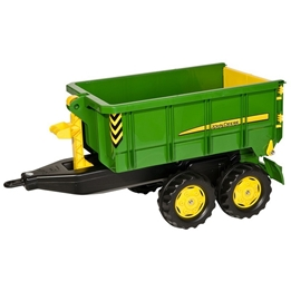 Rolly Toys - Trailer Rollycontainer John Deere Junior Grön