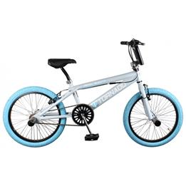 Bike Fun - BMX Cykel - Tornado 20 Tum Grå/Blå