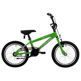 Bike Fun - BMX Cykel - Cross Tornado 16 Tum Junior Grön