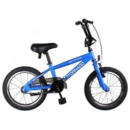 Bike Fun - BMX Cykel - Cross Tornado 16 Tum Junior Blå