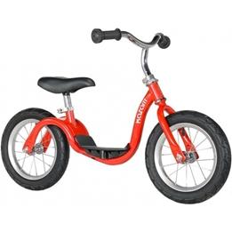 Kazam - Balanscykel - Loopfiets 12 Tum Junior Röd