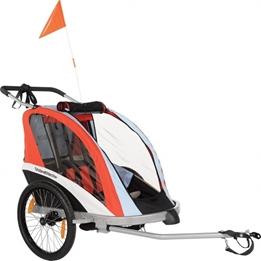 Amigo - Cykelvagn / Lastvagn - Go 20 Tum Junior Orange
