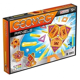 Geomag - Panels Gul / Orange 114-Piece