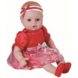Adora - Playtime Baby Snowflake Röd Girls 33 Cm