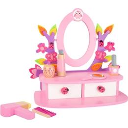 Small Foot - Sminkbord Med Tillbehör Rosa