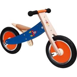Scratch - Balanscykel - Balance Bike 12 Tum Junior Röd/Blå