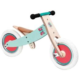 Scratch - Balanscykel - Balance Bike 12 Tum Turkos