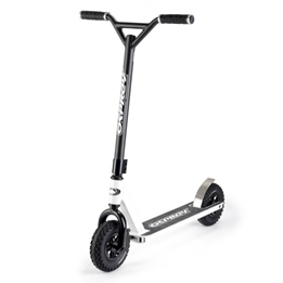 Osprey - Sparkcykel - Dirt Stuntstep Junior Fotbroms Svart/Vit