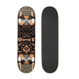 Osprey - Skateboard Candy Skull Brun 79 X 20 Cm
