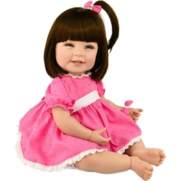 Adora - Docka - Toddler Time Exclusive Mila 51 Cm Rosa