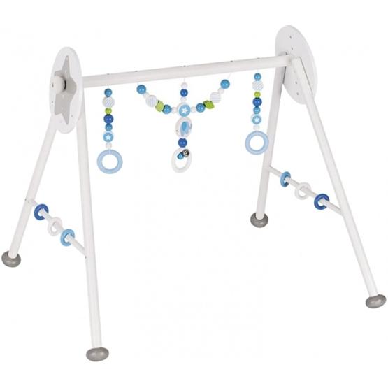Heimess - Baby Gym Elephant 63 X 55 X 53 Cm Vit / Blå