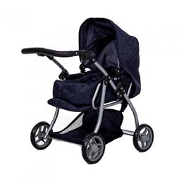 Mini Mommy - Dockvagn 62 Cm Mörkblå