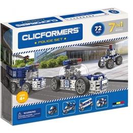 Clicformers - Police Set 72-Piece