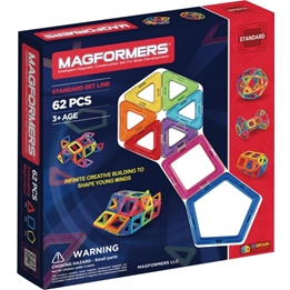 Magformers - Set Of 62 Pieces