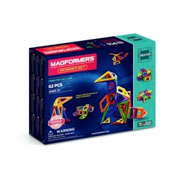 Magformers - Designer Set Of 62 Pieces
