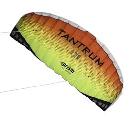 Prism - Two-Line Mattress Kite Tantrum 220 Lava 222 Cm Röd / Gul