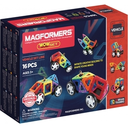 Magformers - Wow Set Of 16 Pieces